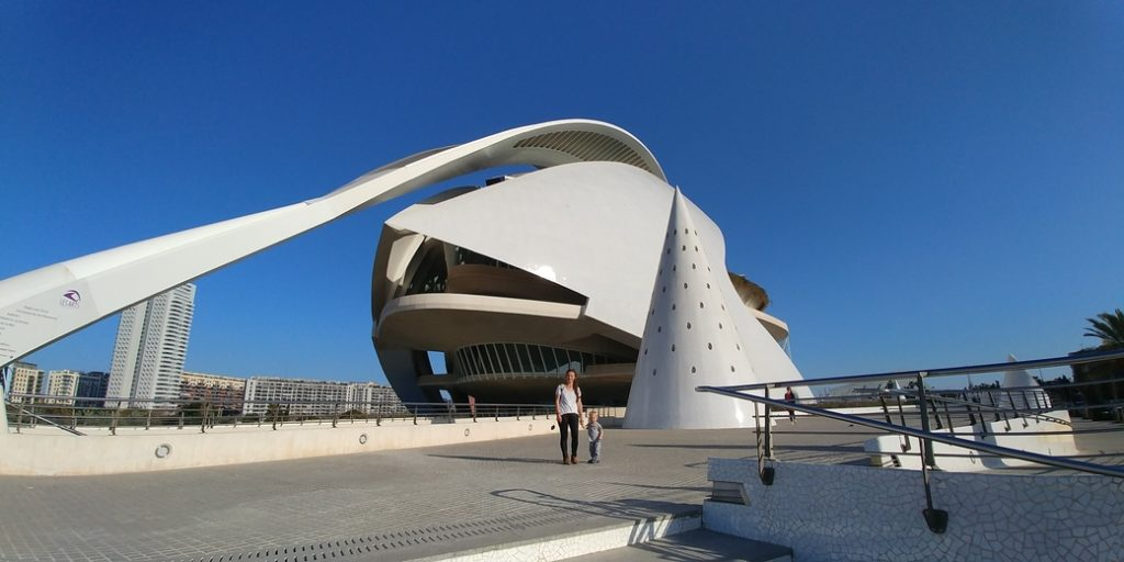 Valencia moderne Kunstbauten