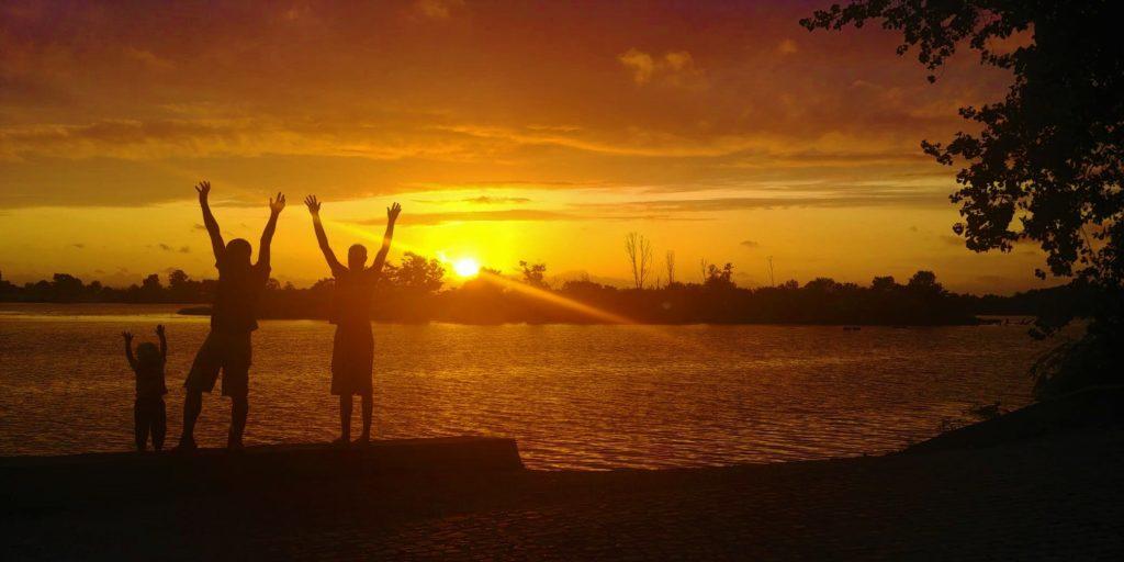 Sonnenuntergang Salvaterra de Magos